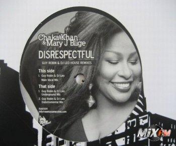 Chaka Khan & Mary J Blidge - Disrespectful (Guy Robin House Remixes)