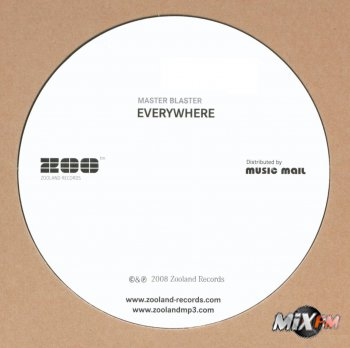 Master Blaster - Everywhere Promo CDM