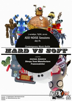 ADD NOISE NCCA sessions 2009, volume 1 (2009)