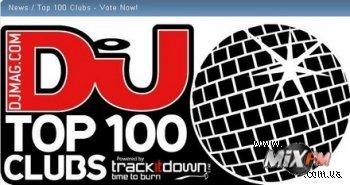 Открыто голосование DJ Mag Top100 Clubs