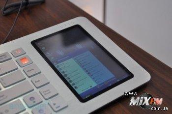 В апреле в продажу поступят клавиатуры с экраном