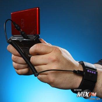 Зарядное устройство для мобильного в форме браслета – стильно и практично