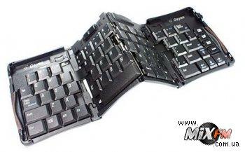 Компактная клавиатура помещается в кармане