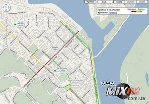 На Google Maps появилась функция отслеживания пробок в Киеве