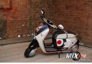 BMW заявила о разработке нового скутера с бортовым компьютером iPhone