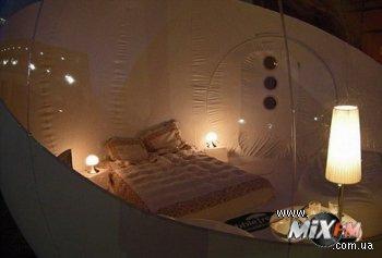 Палатка со всеми удобствами - специально для романтиков