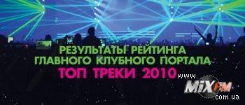 Результаты рейтинга ТОП треки 2010