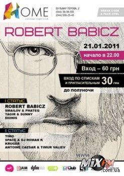 21 января, Robert Babicz @ Home Concept Night Club
