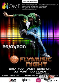 29.01.2011 Fly Music Night снова с вами!