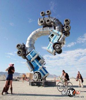 Burning Man - сумасшедший фестиваль в пустыне