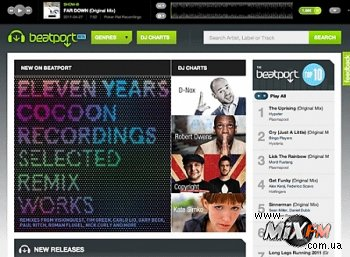 Beatport обретает новый дизайн и интерфейс