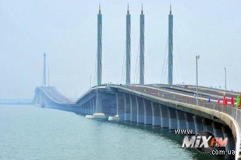 Построен самый длинный мост в мире
