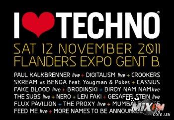 I Love Techno объявляет первые имена